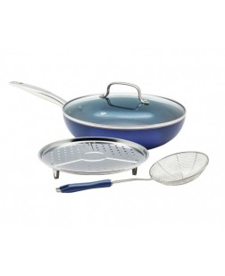 Fissler Frying Pan with lid Blue Diamond CC002251