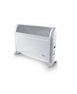 Tesy Floor Convector with resistance CN 214 ZF